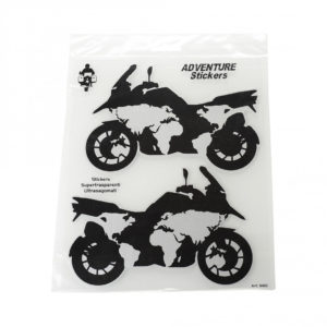 Adventure Stickers Moto Planisvero