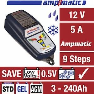 OPTIMATE 6 AMPMATIC